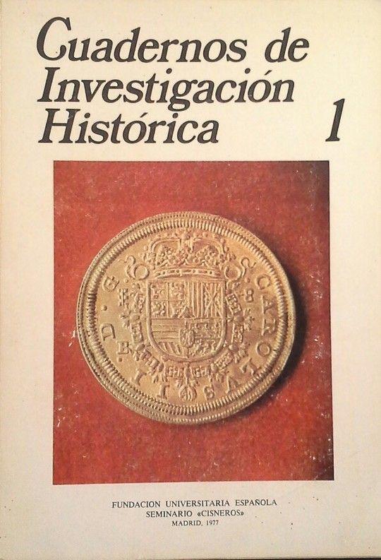 CUADERNOS DE INVESTIGACIÓN HISTÓRICA, 1