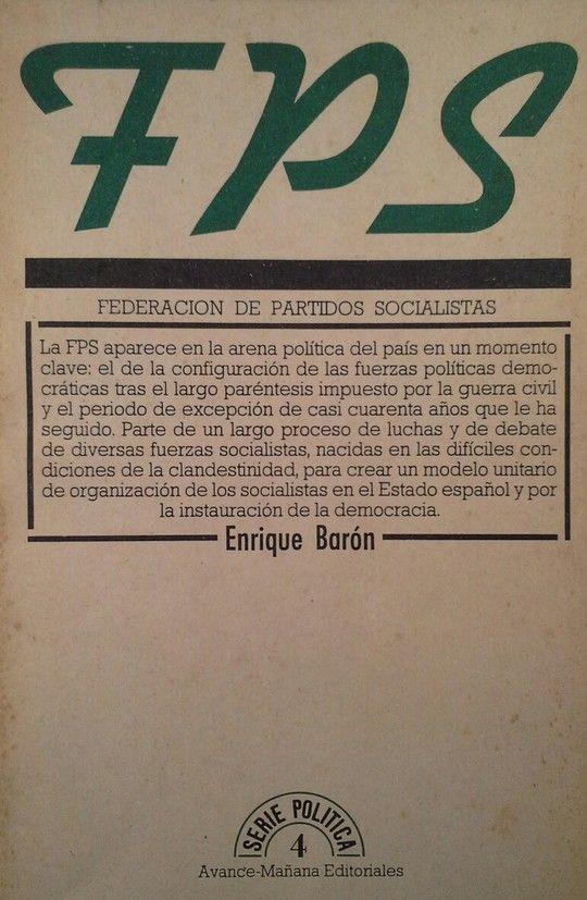 FEDERACIÓN DE PARTIDOS SOCIALISTAS