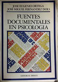FUENTES DOCUMENTALES EN PSICOLOGÍA