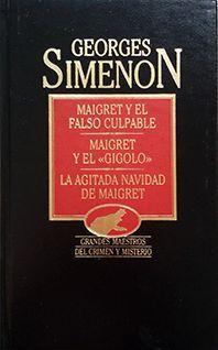 MAIGRET Y EL FALSO CULPABLE Y OTROS