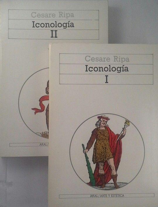 ICONOLOGÍA - VOLÚMENES I Y II