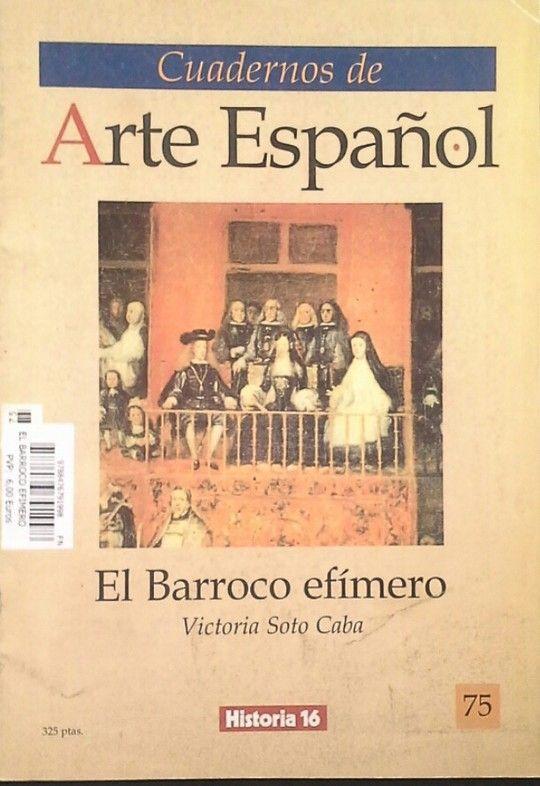 CUADERNOS DE ARTE ESPAÑOL (FASC.)
