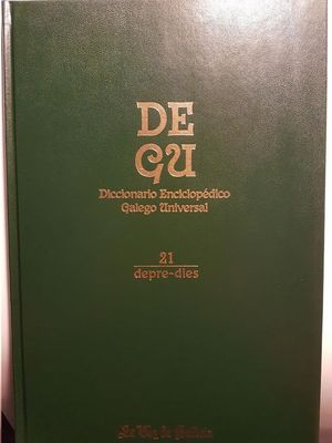DEGU : DICCIONARIO ENCICLOPÉDICO GALEGO UNIVERSAL VOL 21
