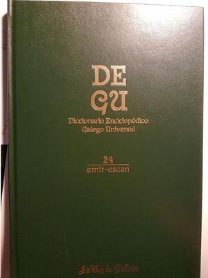 DEGU : DICCIONARIO ENCICLOPÉDICO GALEGO UNIVERSAL VOL-24