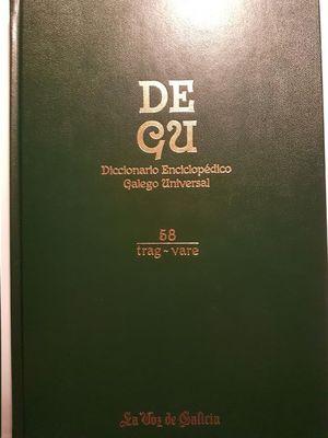 DEGU : DICCIONARIO ENCICLOPÉDICO GALEGO UNIVERSAL VOL.58