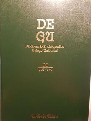 DEGU : DICCIONARIO ENCICLOPÉDICO GALEGO UNIVERSAL VOL.60