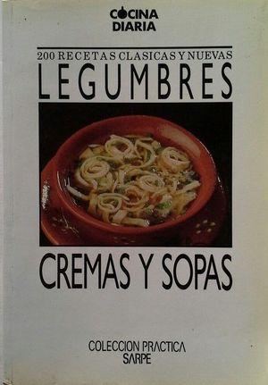 LEGUMBRES, CREMAS Y SOPAS