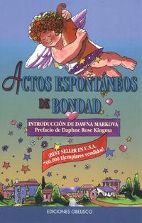 ACTOS ESPONTÁNEOS DE BODAD