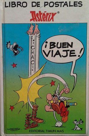 ¡BUEN VIAJE! - LIBRO DE POSTALES DE ASTERIX