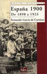 ESPAÑA 1900:DE 1898 A 1923