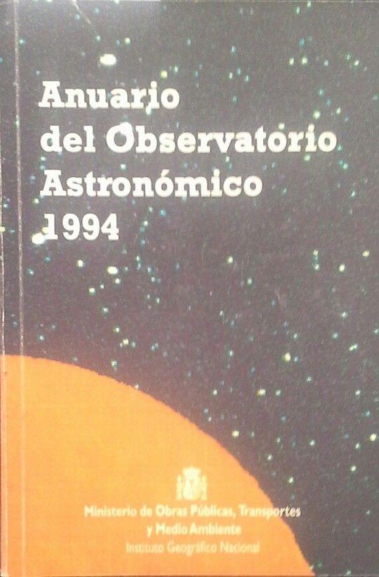 ANUARIO DEL OBSERVATORIO ASTRONÓMICO DE MADRID PARA 1994