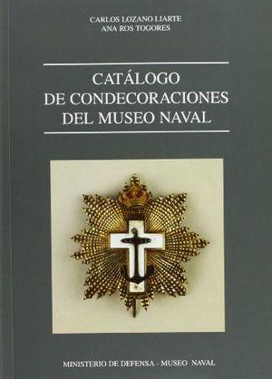 CATÁLOGO DE CONDECORACIONES DEL MUSEO NAVAL