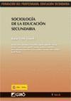 SOCIOLOGÍA DE LA EDUCACIÓN SECUNDARIA