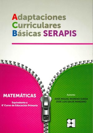 MATEMATICAS 6P - ADAPTACIONES CURRICULARES BÁSICAS SERAPIS