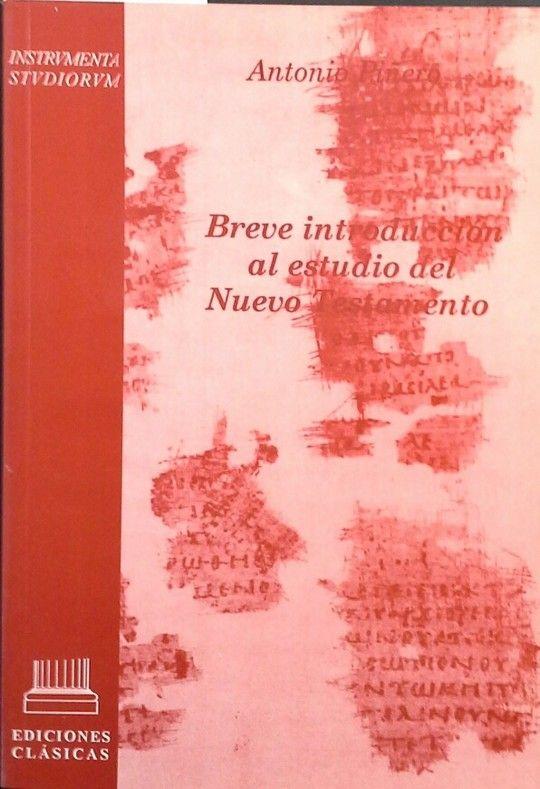 BREVE INTR. ESTUDIO DEL NUEVO TESTAMENT
