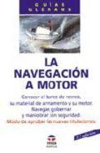 LA NAVEGACIÓN A MOTOR