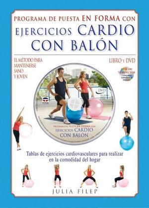 EJERCICIOS CARDIO CON BALÓN.LIBRO Y DVD