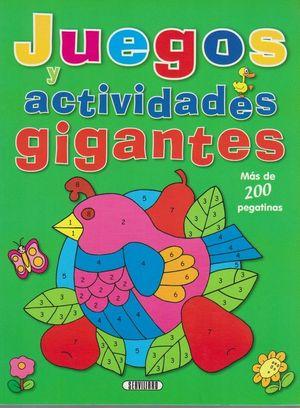 JUEGOS Y ACTIVIDADES GIGANTES