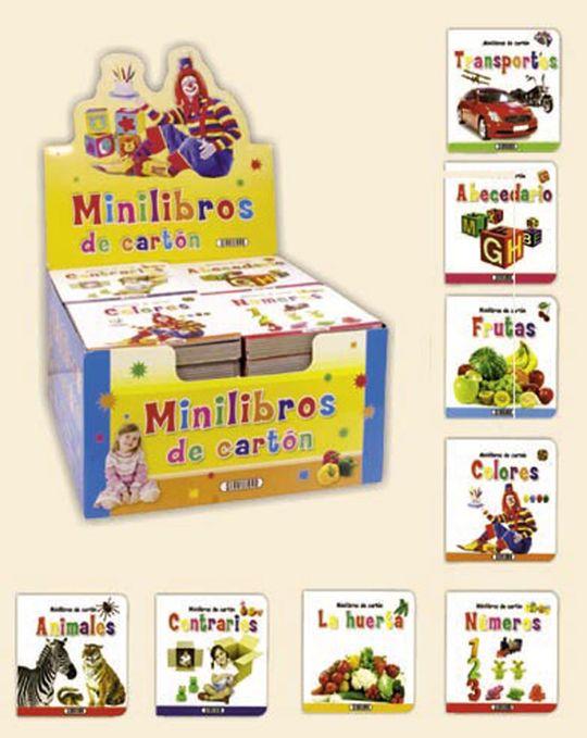 MINILIBROS DE CARTON