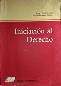 INICIACIÓN AL DERECHO
