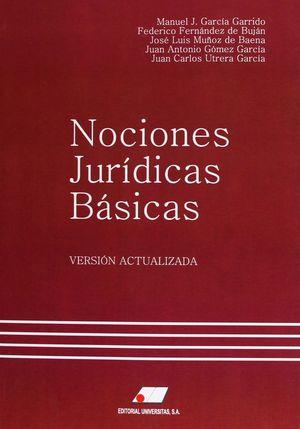 NOCIONES JURÍDICAS BÁSICAS