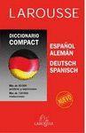 DICCIONARIO COMPACT LAROUSSE. ESPAÑOL-ALEMAN