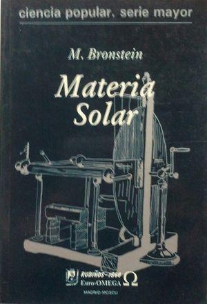 MATERIA SOLAR