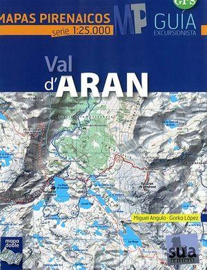VAL D'ARAN - MAPAS PIRENAICOS (1:25000)