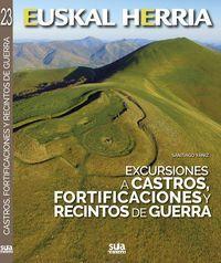 CASTROS, FORTIFICACIONES Y RECINTOS DE GUERRA, EXCURSIONES