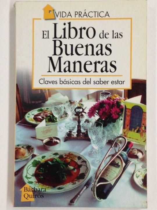 LIBRO DE LAS BUENAS MANERAS