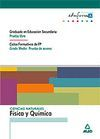 CIENCIAS NATURALES: FÍSICA Y QUÍMICA. GRADUADO EN EDUCACIÓN SECUNDARIA (PRUEBA L