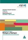 CIENCIAS NATURALES: BIOLOGÍA Y GEOLOGÍA. GRADUADO EN EDUCACIÓN SECUNDARIA (PRUEB