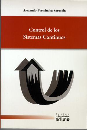 CONTROL DE LOS SISTEMAS CONTINUOS