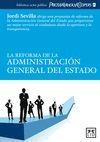 LA REFORMA DE LA ADMINISTRACIÓN GENERAL DEL ESTADO