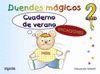 CUADERNO DE VERANO. DUENDES MAGICOS 2 AÑOS