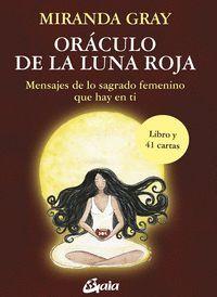 ORÁCULO DE LA LUNA ROJA, LIBRO GUÍA Y 41 CARTAS