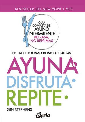 AYUNA, DISFRUTA, REPITE
