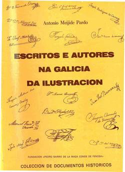ESCRITOS E AUTORES NA GALICIA DA ILUSTRACIÓN