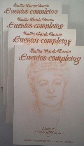 CUENTOS COMPLETOS DE EMILIA PARDO BAZÁN - 4 TOMOS