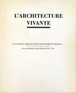 L'ARCHITECTURE VIVANTE ( 2 VOL + CD)