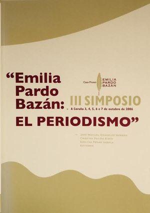 EMILIA PARDO BAZÁN: EL PERIODISMO
