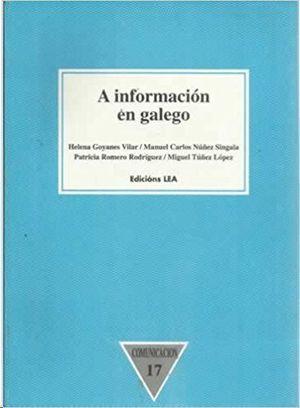 A INFORMACIÓN EN GALEGO