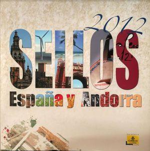 SELLOS ESPAÑA Y ANDORRA 2012