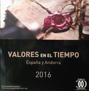 VALORES EN EL TIEMPO 2016