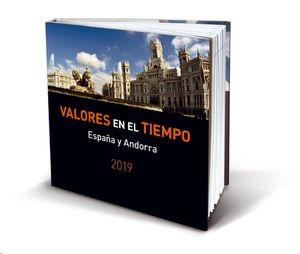 VALORES EN EL TIEMPO 2019