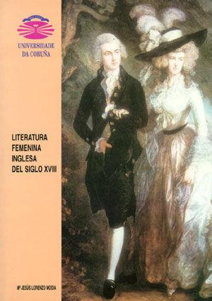 LITERATURA FEMENINA INGLESA DEL SIGLO XVIII