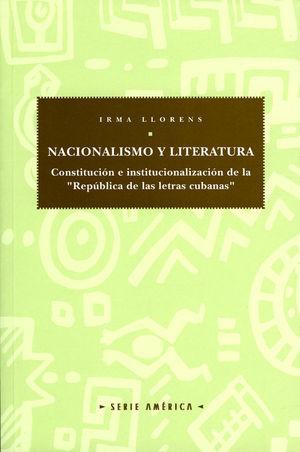 NACIONALISMO Y LITERATURA.