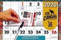 CALENDARIO CAL CANGURO 2020