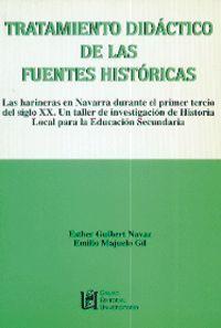 TRATAMIENTO DIDÁCTICO DE LAS FUENTES HISTÓRICAS