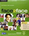 FACE2FACE FOR SPANISH SPEAKERS ADVANCED STUDENT'S BOOK PACK (STUDENT'S BOOK WITH